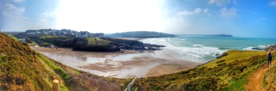 Slipper Point and Hayle Bay